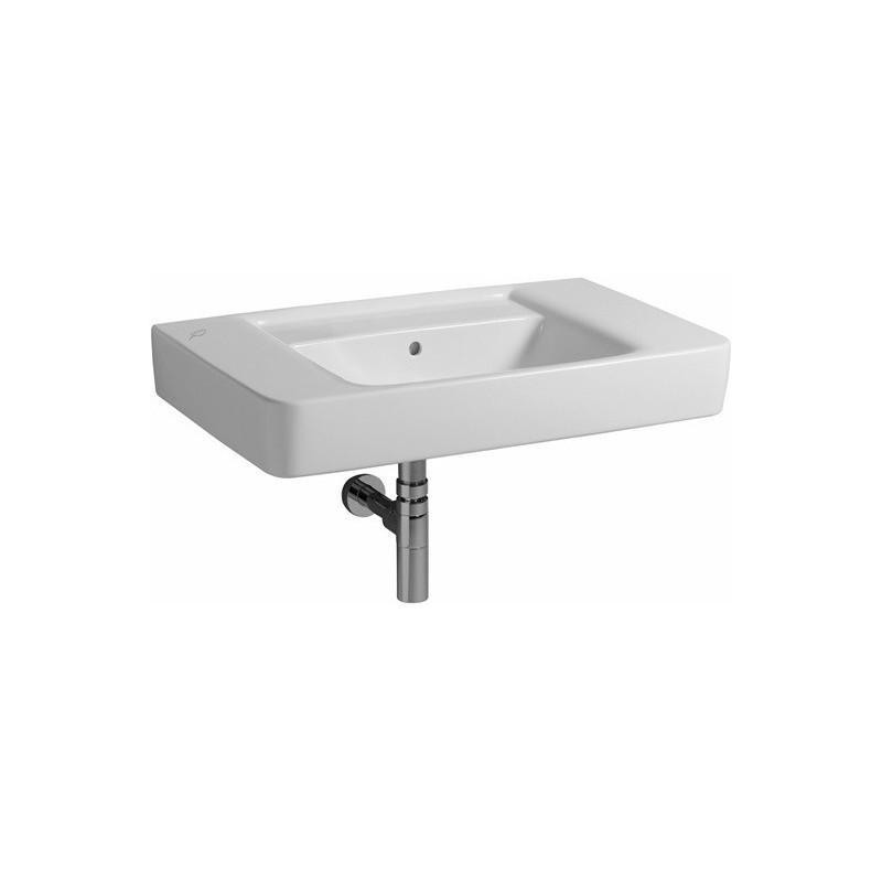 keramag lavabo renova plan 850x480mm sans trou avec trop plein. Black Bedroom Furniture Sets. Home Design Ideas