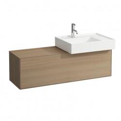 LAUFEN Boutique Meuble sous lavabo, avec un tiroir, avec découpe à droite, avec siphon compact