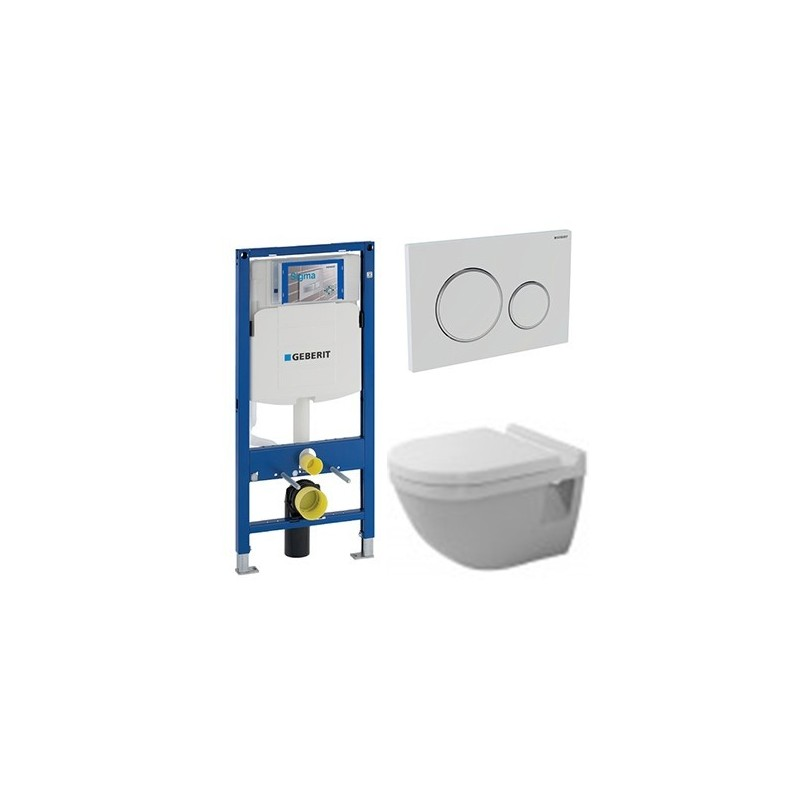 geberit pack duofix up 320 avec duravit pack wc suspendu starck 3 abattant soft close. Black Bedroom Furniture Sets. Home Design Ideas