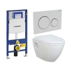 Pack Geberit met Creavit Creavit design ophang wc met wc-zitting softclose