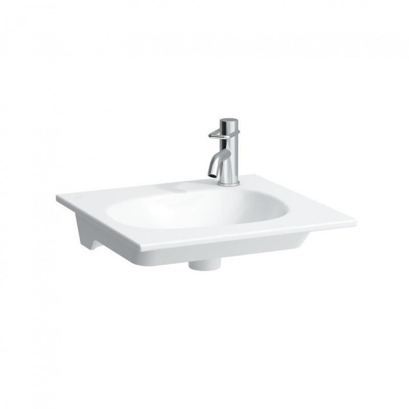 Laufen palomba lavabo poser sur meuble 50x44 for Lavabo sur meuble