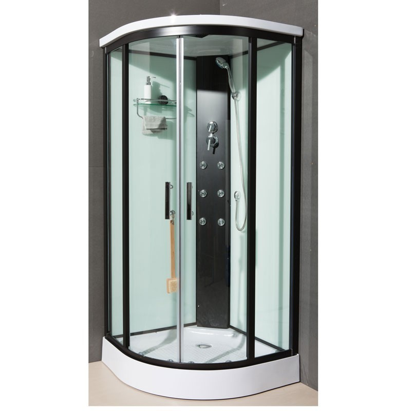 Cabine de douche dakota mitigeur thermostatique thermo - Cabine de douche ...