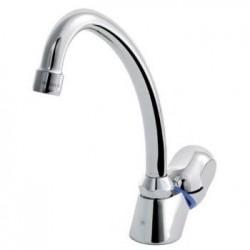 Ideal Standard Alpha  Robinet lave-mains avec bec réhaussé et têtes à joints