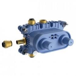 Ideal Standard Archimodule Set à encastrer 1 thermostatique (rail de montage inclus)