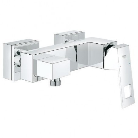 grohe eurocube mitigeur monocommande douche montage mural chrom 23145000. Black Bedroom Furniture Sets. Home Design Ideas