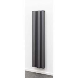 Radiateurs décoratifs Banio-Xander Couleur Antracite  Hauteur 180 cm Largeur 45 cm