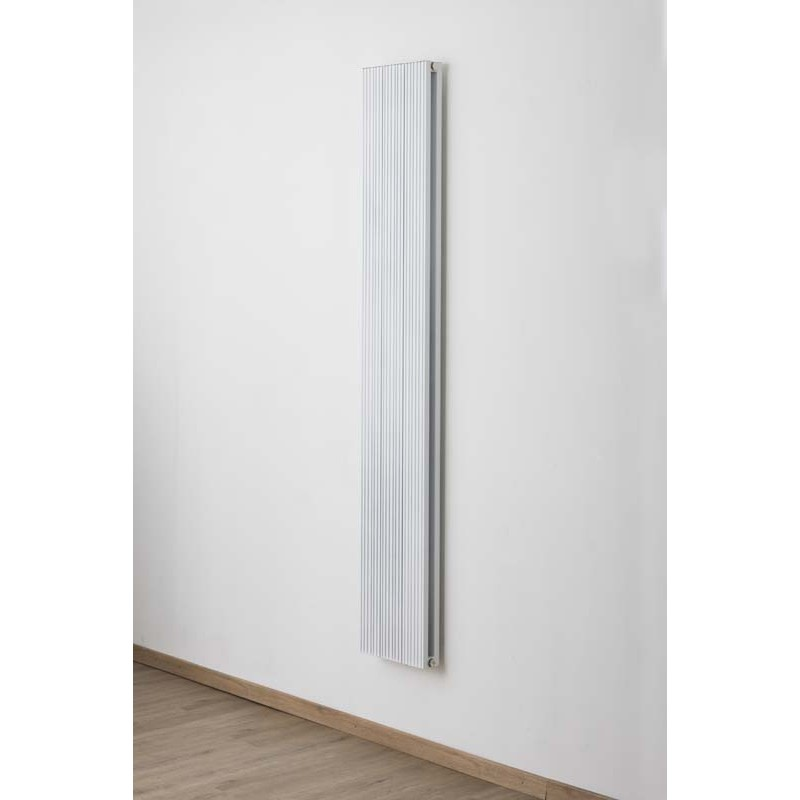 radiateurs d coratifs banio robyn couleur blanc hauteur 180 cm largeur 28 cm. Black Bedroom Furniture Sets. Home Design Ideas