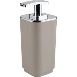 Gedy Seventy Distributeur de savon Beige avec distributeur en plastique chromé