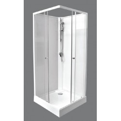 Cabine de douche complète Darina 90x90x207cm