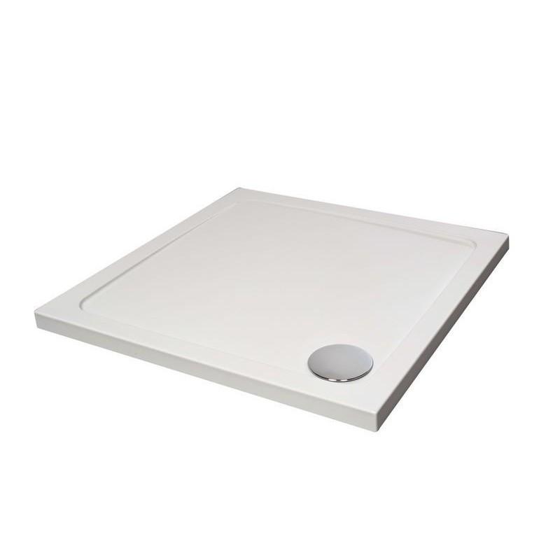receveur de douche hybride de 70x70 cm blanc banio salle de bain