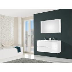 Meuble de salle de bain Pelipal Calypsos  de 120 cm blanc