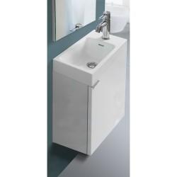 Banio Design-Agento Set wastafelmeubel voor wc Wit