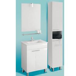 Banio Ruby Set de meuble salle de bain de 60 cm blanc