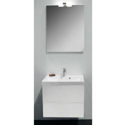Banio Design-Roxanne set meuble de salle de bain de 60 complet blanc