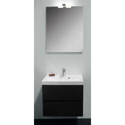 Banio Roxanne ensemble de meuble de salle de bain de 60 cm anthracite