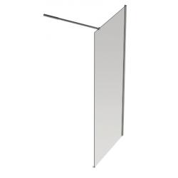 Banio Design Anne Vaste wand met helder easy clean glas 6mm - 120x200cm.