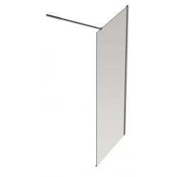 Banio Design Anne Paroi fixe avec verre transparent 6mm easy clean - 140 x 200cm
