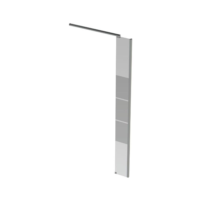 Banio design micha paroi lat rale avec verre transparent for Sol en verre transparent