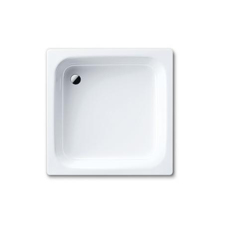 Receveur De Douche En Acier Emaille.Banio Receveur De Douche Acier Emaille 3 5 Mm 90x90 Cm Blanc