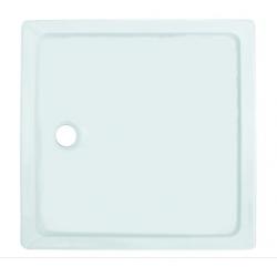Banio Design Eden Receveur de douche en acrylique - 80x80x3 - Blanc
