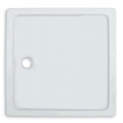 Banio Design Edes Receveur de douche en acrylique - 90x90x3,5 - Blanc