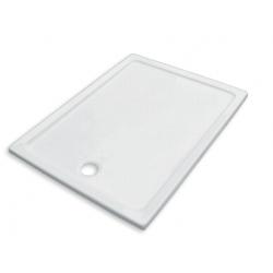 Banio Design Eden Receveur de douche en acrylique - 120x90x3 cm - Blanc