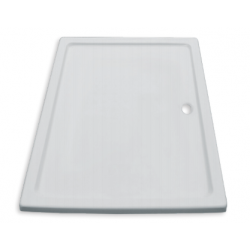 Banio Design Edes Receveur de douche en acrylique - 160x90x3 - Blanc