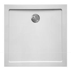 Banio Design Helios Receveur de douche en composite synthétique - 90x90x3,5 - Blanc