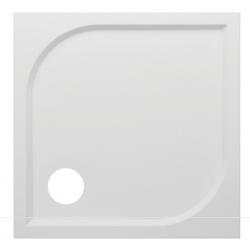 Banio Design Argon Receveur de douche en polybeton gelcoat blanc - 80x80x3cm