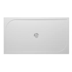 Banio Design Argon Receveur de douche en polybeton gelcoat Blanc - 160x90x3cm