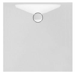 Banio Design Proton Receveur de douche en solid surface - 100X100x3,5cm