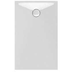 Banio Design Protos Receveur de douche en solid surface Blanc - 120X80x3,5cm
