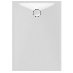 Banio Design Proton Receveur de douche en solid surface Blanc - 120x90x3,5