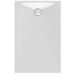 Banio Design Proton Receveur de douche en solid surface Blanc - 140x90x3,5cm