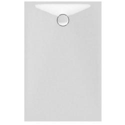 Banio Design Proton Tub de douche en solid surface Blanc - 140x90x3,5cm