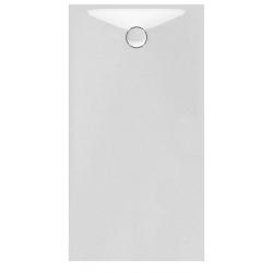Banio Design Proton Receveur de douche en solid surface Blanc - 160x90x3,5cm