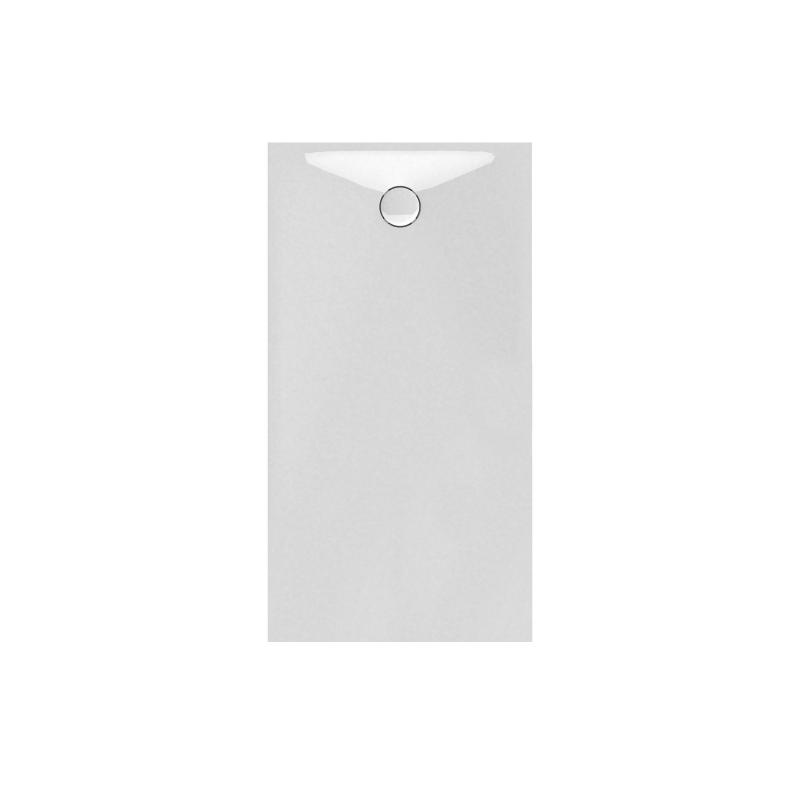 banio design proton receveur de douche en solid surface blanc 160x90x3 5cm. Black Bedroom Furniture Sets. Home Design Ideas