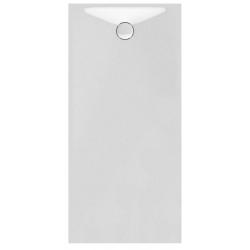 Banio Design Proton Receveur de douche en solid surface Blanc - 180x90x3,5cm