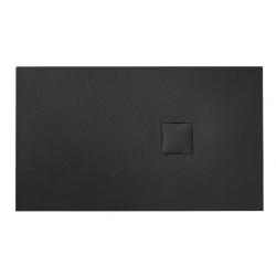 Banio Design Kryptos Douchebak in polybeton steenimitatie Graniet - 120x90x3cm