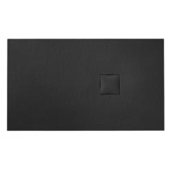 Banio Design Kryptos Receveur de douche en imitation pierre Granite - 140x90x3cm