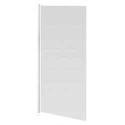 Banio Design Megala Badwand 1-delig met witte profielen - 75x130cm