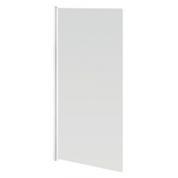 Banio Design-Megalo Paroi de bain 1 volet avec profil blanc - 75x130cm
