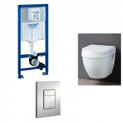 Grohe Pack WC suspendu rapid SL avec cuvette soft-close complet