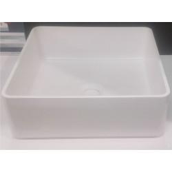 Banio-Minnie Vasque à poser Blanc mat - 37x37cm