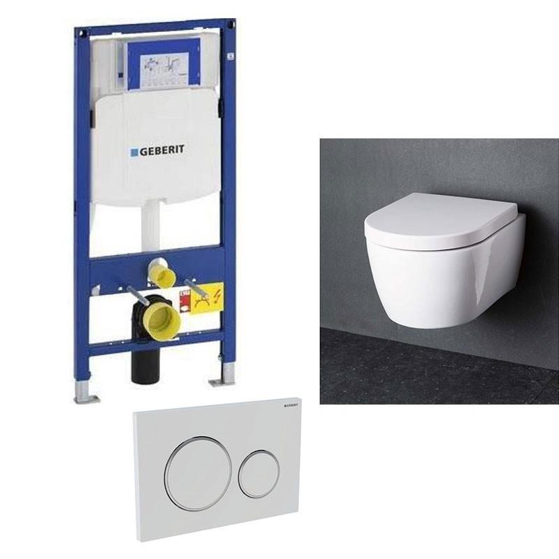 geberit pack wc suspendu blanc compact geberit duofix avec. Black Bedroom Furniture Sets. Home Design Ideas