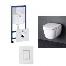 pack wc suspendu au meilleur prix du march sur. Black Bedroom Furniture Sets. Home Design Ideas