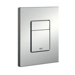 grohe pack wc suspendu blanc toilette avec abattant soft close et avec plaque mat chrom. Black Bedroom Furniture Sets. Home Design Ideas