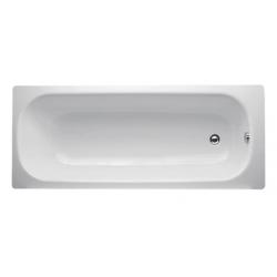 Banio-Easy Baignoire en acier Blanc - 150X70cm