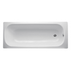 Banio-Easy Baignoire en acier Blanc - 170X70cm