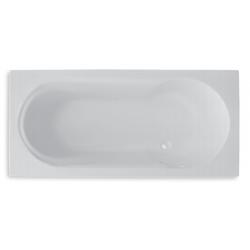 Banio Design-Karo Beignoire en acrylique Blanc - 170x75cm